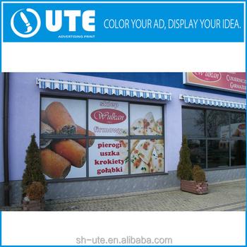 Full color vinyl glass door sticker printing