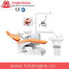 Hongke dental chair unit with LED sensor lamp light cure and scaler
