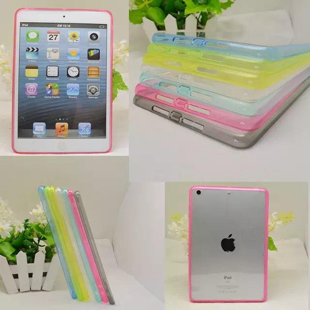 For iPad 2 Crystal Transparent Acrylic Plastic Hard Case , for ipad 2 3 4 plastic case