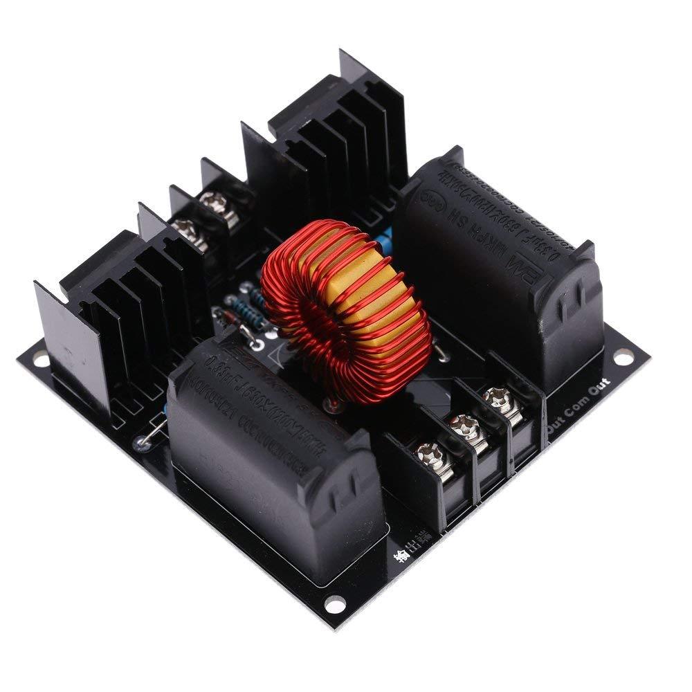 Festnight ZVS Tesla Coil Driver Board Module Marx Generator Jacob Ladder H Voltage Power Supply