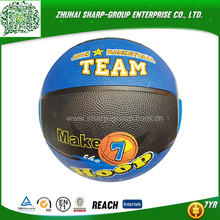 OEM Heat transfer printing colorful cartoon basketball
