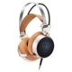 Vibration Noise Cancelling Stereo USB Wired Gaming Headset Headphone