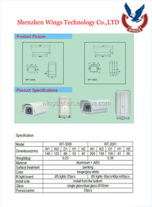 cctv Camera Housing/underwater camera housing/outdoor dome camera housing