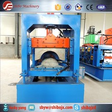 good quality hydreulic bamboo ridge cap curving cold shaped steel press tile machine