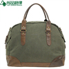 expandable multifunctional canvas travel bag with collapsible shoulder strap