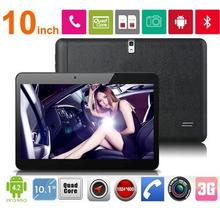 10 inch Tablet MTK6572 Quad Core 1024*600 2G RAM 16G ROM Dual SIM Card Android 4.4 GPS Wifi 3G tablet pc for kids and adults