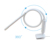 Modern 4.5w clip on desk bed led reading light flexible long arm gooseneck clamp table lamp