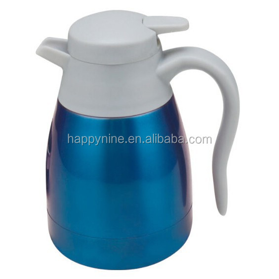 New 1000ml Large Capacity Vacuum Coffee Pot Multi Color Available