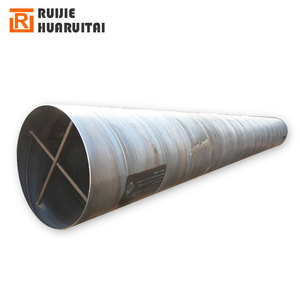 SSAW LSAW 6mm-20mm thick wall carbon steel big diameter spiral welded steel pipe manufacturer