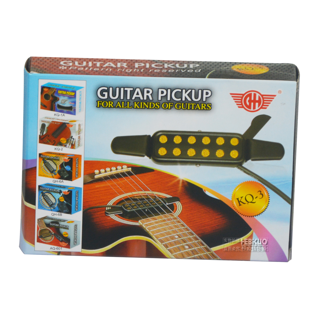 KQ-3 guitar pickup,high quality pickup musical instrument accessories