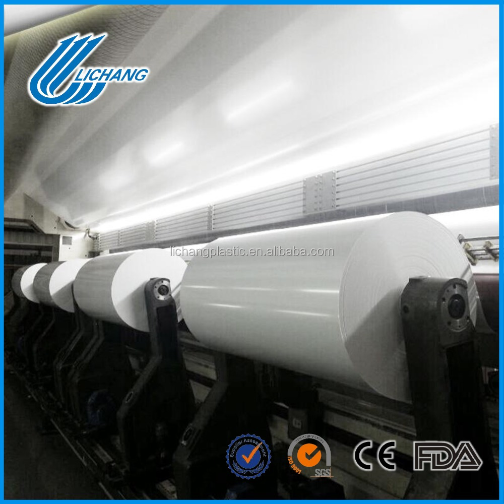 Matte pp film pp synthetic paper for advertising printing material