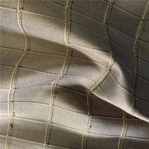 100% Silk Yarn Dyed Check Pattern Silk Dupion Fabric for Aged Man ea2cf7665