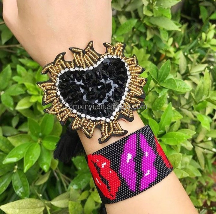 Whoslae XY-CM157 personalizado Fantasia mulheres miyuki missangas brincos, brinco de coração, brinco moda brinco de miyuki
