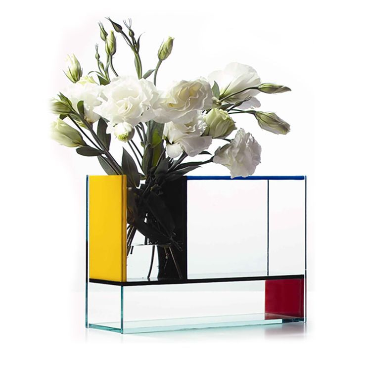 Fashion Made Tall Large Clear Acrylic Clear Acrylic Flower Vases