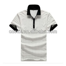 13PT1013 High quality mens print t shirt polo shirt
