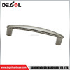 Zinc alloy cast Glossy nickel bedroom furniture hardwares pull handles