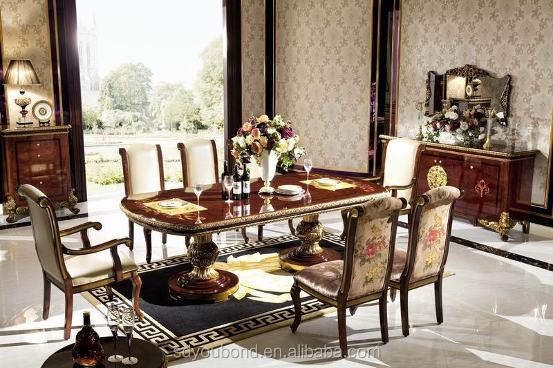 0063 solid wood antique dining room set italian style italian round dining room in classic style top and best