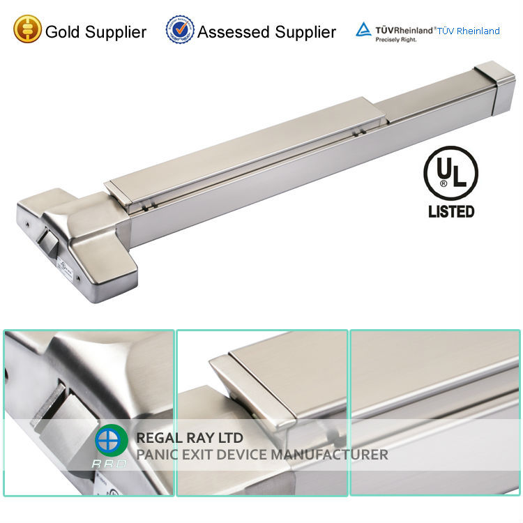 High Quality 304SS Stainless Steel Panic Exit Device Push bar lock