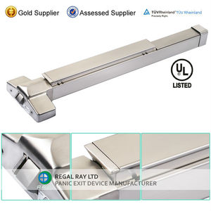 High Quality 304SS Stainless Steel Panic Exit Device Push Bar Lock With EN1125