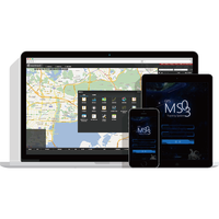 Meitrack Web based gps tracking software / platform / system MS03