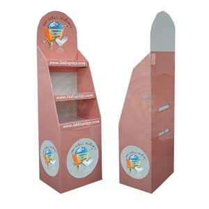 Manufactures Wholesale Custom Cheap cardboard book display stands
