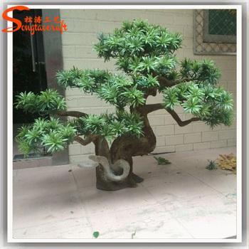 Garden Metal Artificial Ornamental Plants Decorative Artificial Indoor  Plants Pine Tree