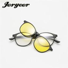 33a0c1af2f95d4 Online Brillen 3D Gepolariseerde Zonnebril 3 Stuk Lenzen Set CE Eigen Merk  Zonnebril
