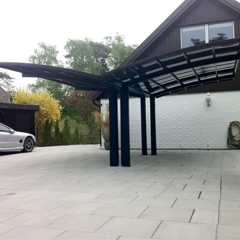 Canopies&Carports, Garages Type Aluminium/Solid PC Car Shelter 550*600*365(L*W*H)