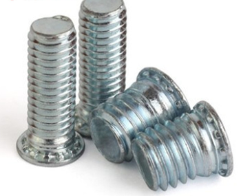 Self clinching standoff fasteners spacers sleeve nut self clinching hexagon threaded standoff for sheet metal