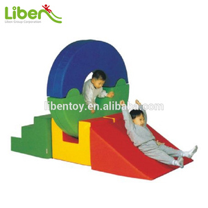 Exciting Durable Children Indoor Soft slide Play Area for kiddie