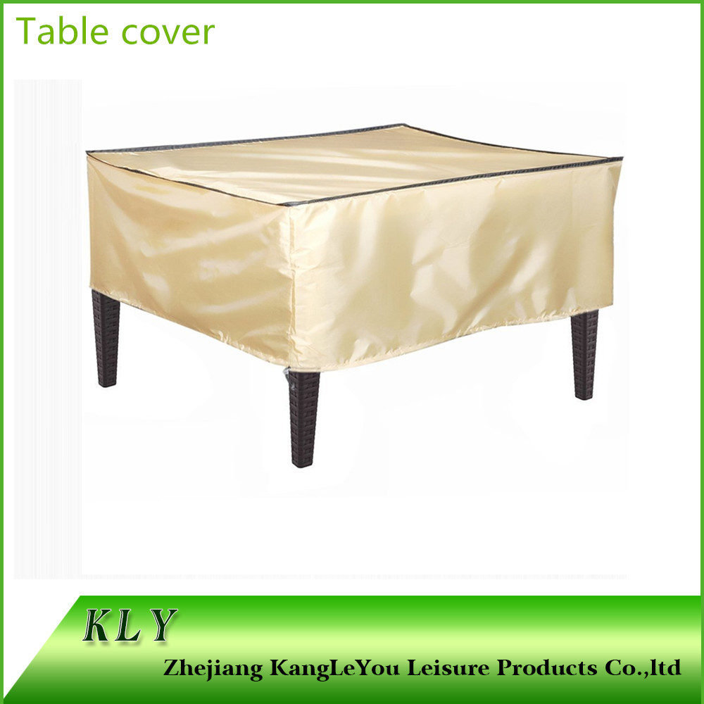 Waterproof polyester table Garden furniture cover