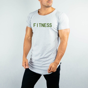 OEM / ODM Gym T shirt Manufacturer Bangladesh Wholesale Custom Print Fitness T Shirt