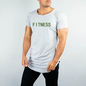 OEM / ODM Gym T shirt Manufacturer Bangladesh Wholesale Custom Print Fitness T Shirt