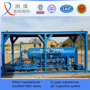 oilfield natural gas water separator solid-liquid-gas separator well test filter separator