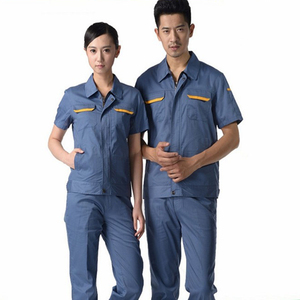 OEM Workwear Uniforms Work Clothes With Short Sleeves