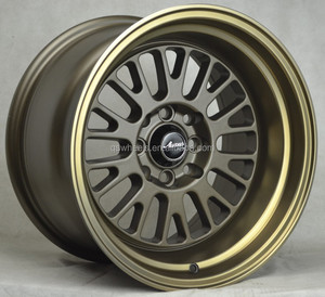 deep dish wheels 15 inch alloy wheel 4x100 replica wheel on sale universal rims 15x9j