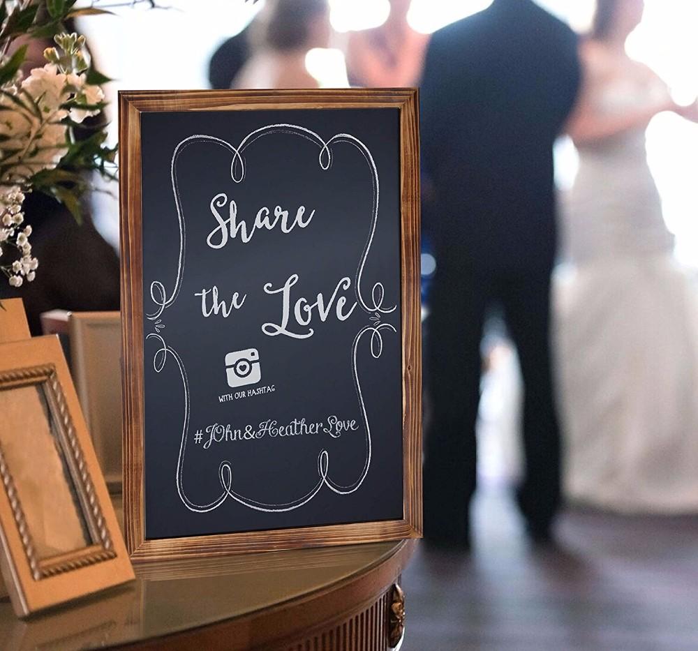 Top Sales 11*17Inch Wooden Chalk Board - Yola WhiteBoard | szyola.net