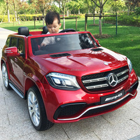 License Mercedes-benz GLS63 for two kids baby electric car,kids battery powered Mp3 2.4G bluetooth remote control ride on toys