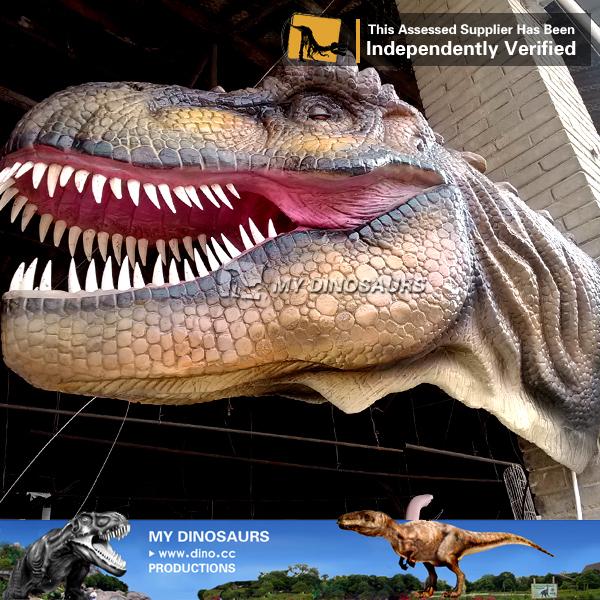 Dinosauri robot testa piena maschera di cartone animato dinosauri
