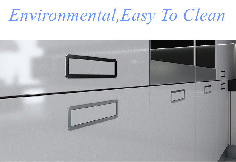CBMMART Custom High Glossy finishing Modern Kitchen Cabinet