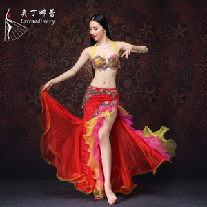 Extraoidinary NEW professional belly dance costume belly dance outfit