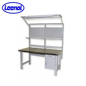 ESD workbench for electronics with drawer and shelf follow CE & ISO certification