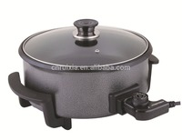 non-stick coating 40cm electric pizza pan