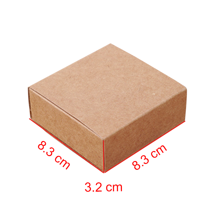 Kraft paper packaging dessert drawer gift box