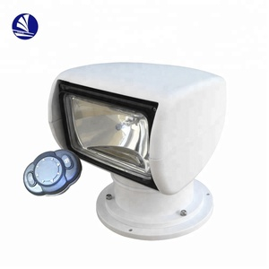 Marine Yacht Boat 12V/24V Remote Control HID LED Searchlight with Wire Searchlight Lamp