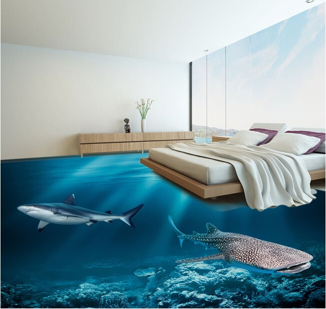 Modern Floor And Wall Porcelain Tile 3d Tiles For Bedroom