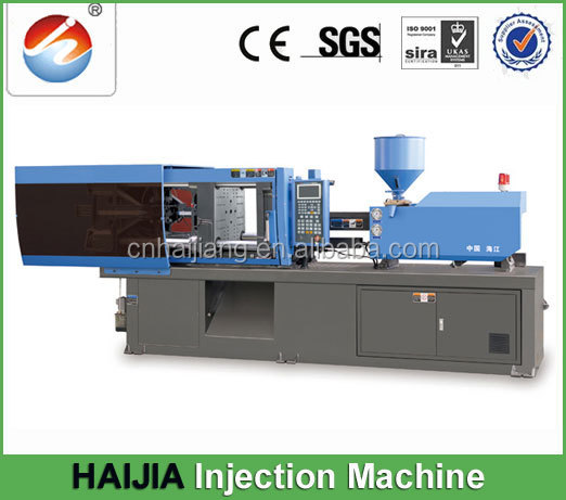 China Haijing High speed 118t injection molding machine