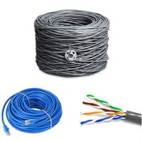 Best Price UTP Cat5e Lan Cable 4pr 24AWG Network Cable