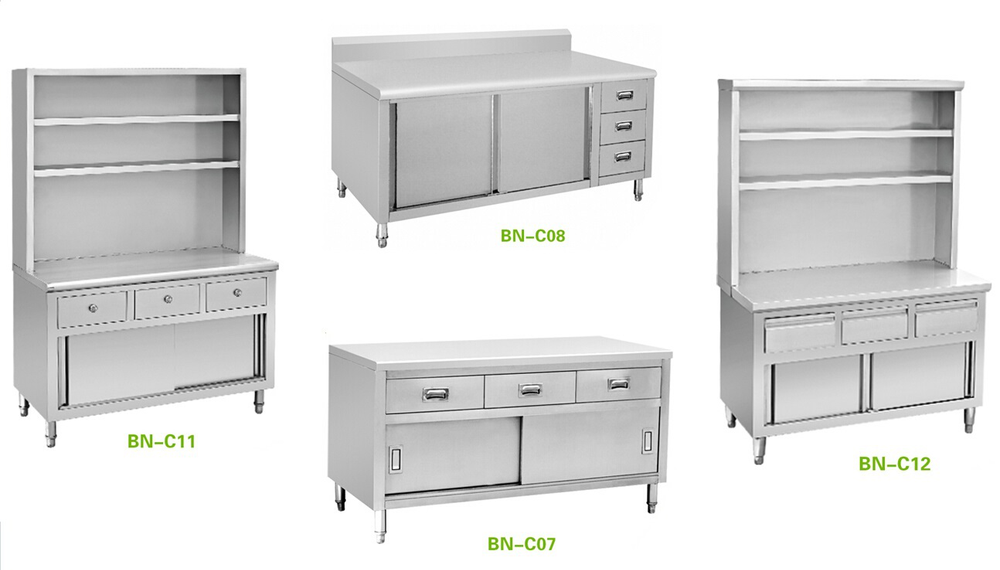 Kitchen cupboard stainless steel hotel restaurant kitchen for Kitchen 8 restaurant