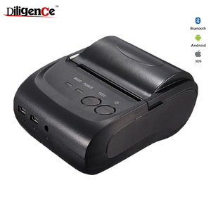 Ethernet port pos mini thermal bluetooth printer money order printer with backup battery